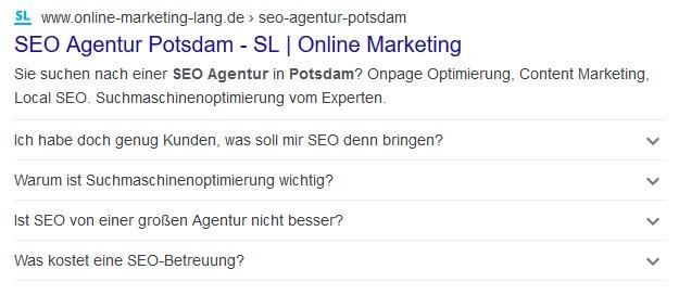 SEO Agentur Potsdam